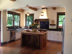 Wood Island Kitchen by Rustic Kitchen Island With Looking Accompaniment