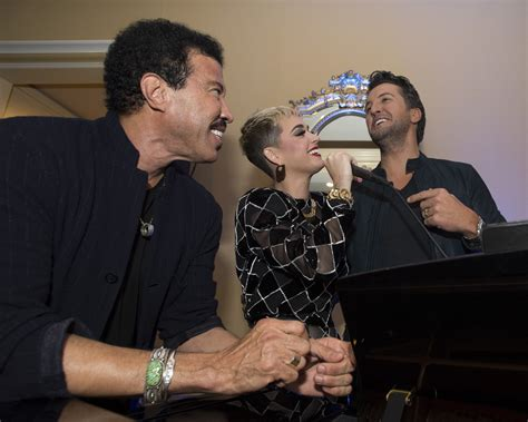 luke bryan katy perry lionel richie special look katy perry luke bryan lionel richie