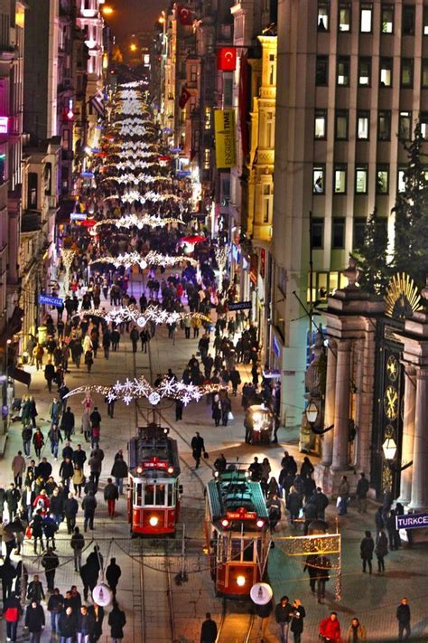 From History Books Of Istanbul To The Streets Of New York by Istiklal Istanbul Turkey Taksim Beyoğlu Istanbul