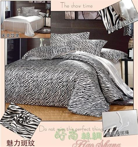 zebra print comforter sets king size black and white zebra print mulberry silk bedding set king
