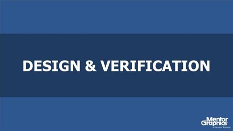 design verification is design verification in the soc era seminar