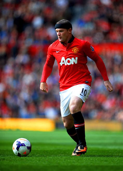 wayne rooney in manchester united v palace