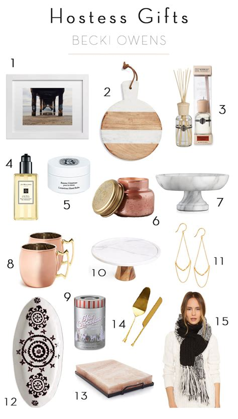 blogger gifts 15 hostess gifts under 50