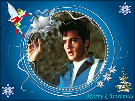 elvis presley christmas wallpaper gallery