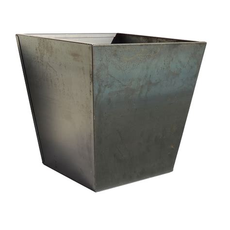 Tapered Square Planter by Corten Tapered Square Planter Llc