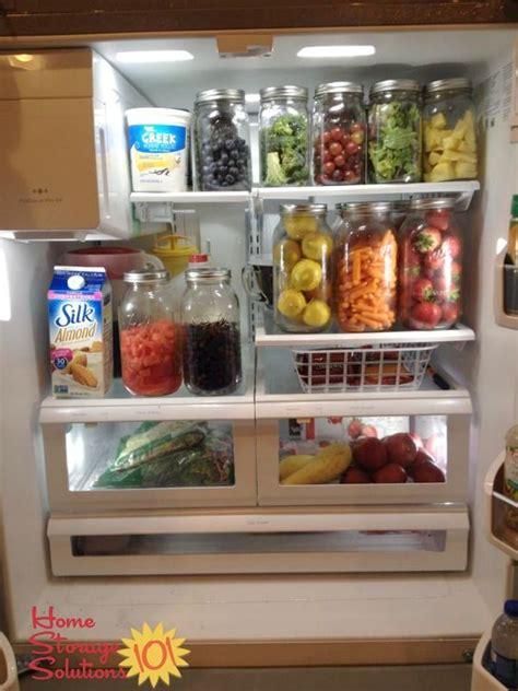 real life refrigerator organization storage ideas