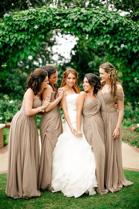 neutral fall bridesmaid dresses today was a fairytale