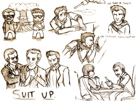 Uncharted 4 Sketches by Uncharted Sketchdump By Kimukocat On Deviantart