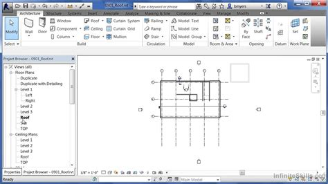 autodesk revit tutorial videos autodesk revit architecture 2014 tutorial roof doovi