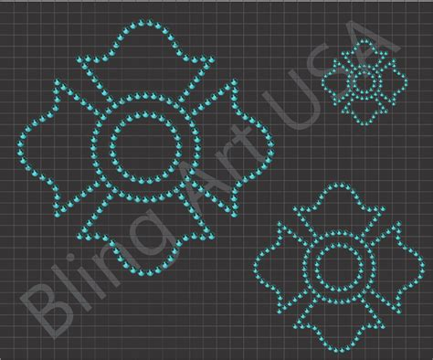 rhinestone crest download templates art bling symbols svg