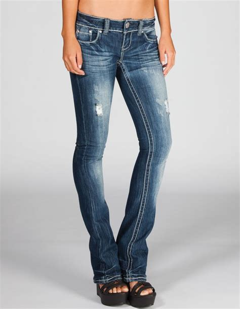 Womens Bootcut Jeans 06 Womens Jeans Tall Skinny Stretch Cute | almost famous womens skinny bootcut jeans 214566827