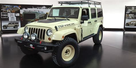 jeep africa concept the africa concept might preview future jeep wranglers