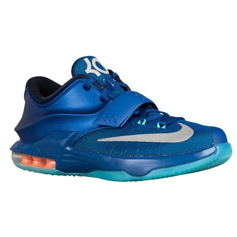 nike boys basketball shoes blue nike basketball shoes boys nike kd 7 blue metallic