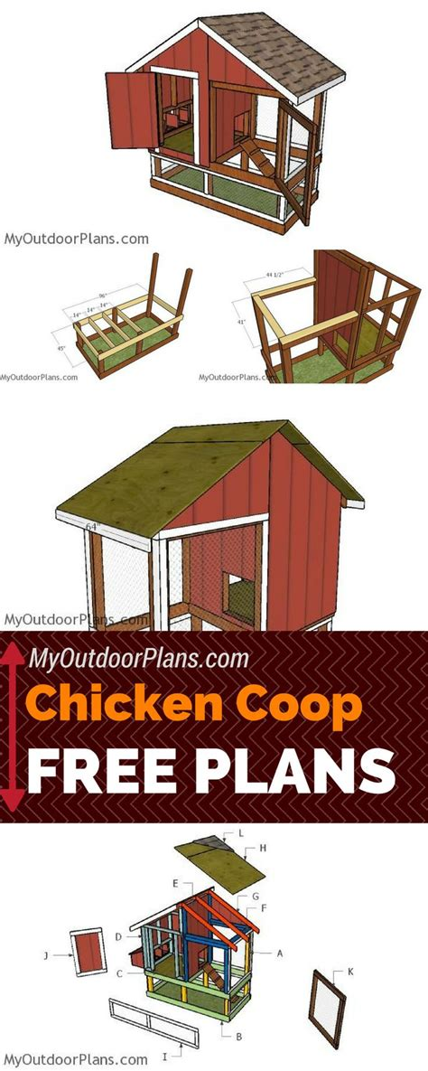 Backyard Chicken Coop Plans Free 25 Best Ideas About Chicken Coop Plans On Diy Chicken Coop Plans Backyard Chicken