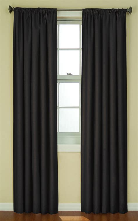curtains black eclipse thermal back curtains black ellery view all curtains