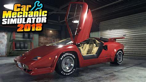 cars mechanic simulator 2018 buying a lamborghini car mechanic simulator 2018
