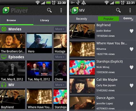 player for android all format wondershare player multi format multimedia player discovery and media app for