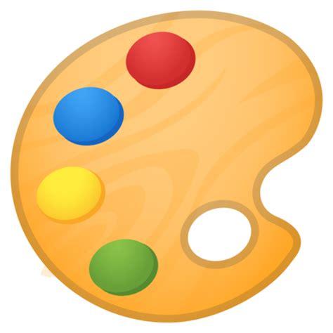 Painting Emoji by Artist Palette Emoji