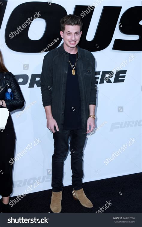 charlie puth jeans los angeles feb 1 charlie puth stock photo 269492660