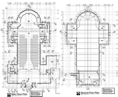cathedral floor plan church floor plans