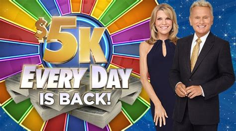 Www Wheeloffortune Com Sweepstakes - wheeloffortune com win 5k everyday sweepstakes sweepstakesbible