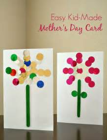 easy kid made s day card s day ideas for