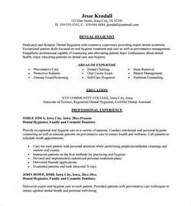 Dental Cv Template by Dental Assistant Resume Template 7 Free Word Excel
