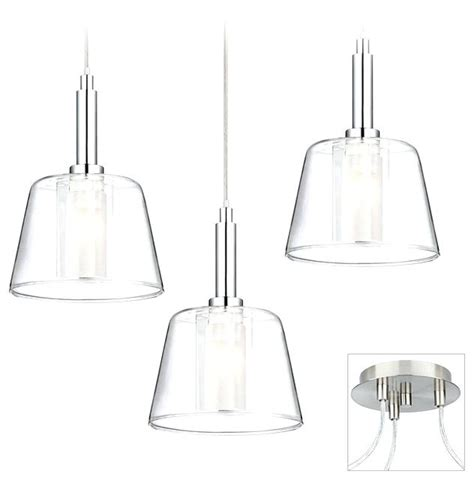 brushed nickel pendant lighting kitchen akomunn