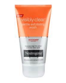 Visibly clear 174 gentle exfoliating wash neutrogena 174