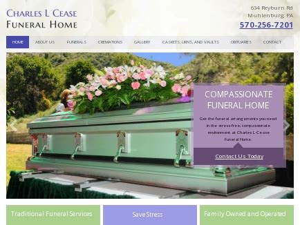 charles l cease funeral home funeral muhlenburg pa