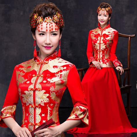 Gaun Pesta Princess Cheongsam buy grosir pernikahan qipao from china pernikahan