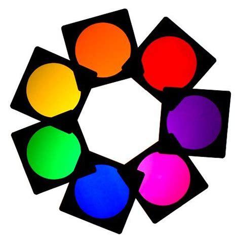 7 X Par Can 56 Lighting Filter Gel Theatre Stage Tv