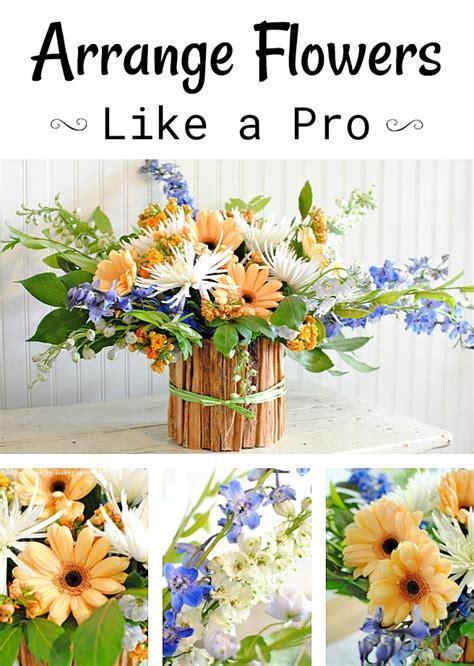 how to arrange flowers how to arrange flowers with matthew robbins town country living