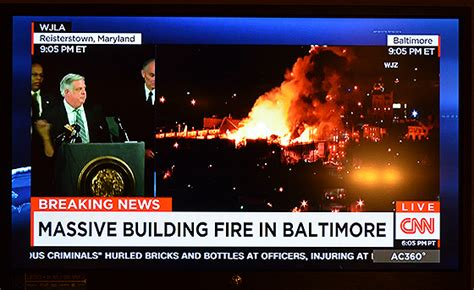Press Coverage How The Media Covered The Baltimore Riots American Journalism Review