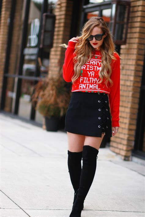 ugly christmas sweater outfit upbeat soles orlando