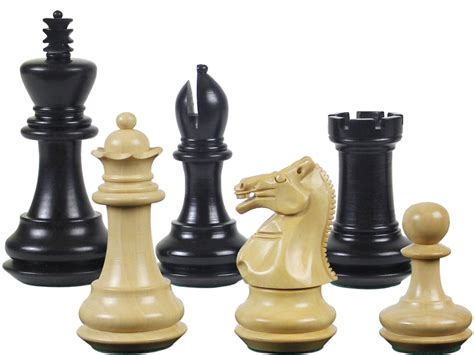 wooden chess set wood chess set pieces emperor staunton ebony boxwood king