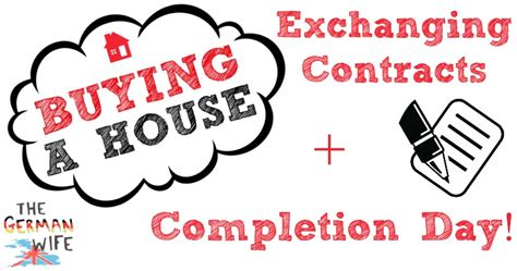 house buying exchange of contracts buying a house exchange of contracts buying a house exchanging contracts completion