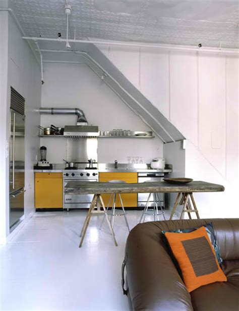 Kitchen Stairs Design 35 Clever And Stylish Small Kitchen Design Ideas Decoholic