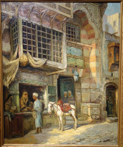 moroccan art history file untitled moroccan market scene by louis comfort