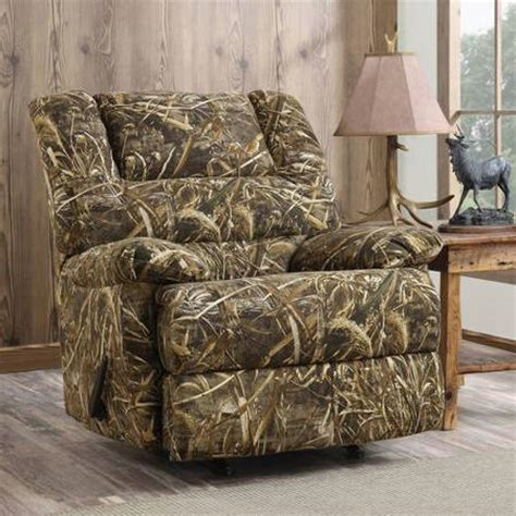 best camo recliner 1sale dorel living realtree camouflage deluxe recliner