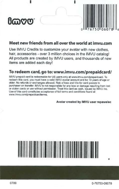 Buy Imvu Credits With Gift Card - imvu gift card 25 plastic gift certificate in the saudi arabia see prices reviews