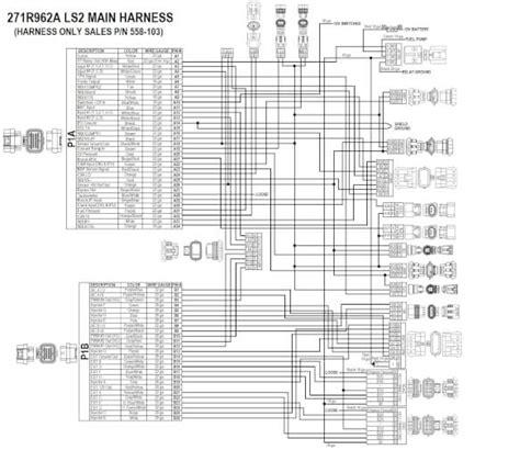 holley efi 558 103 ls2 3 7 58x 4x engine harness