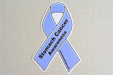 stomach cancer ribbon color ribbon awareness decals medium choose