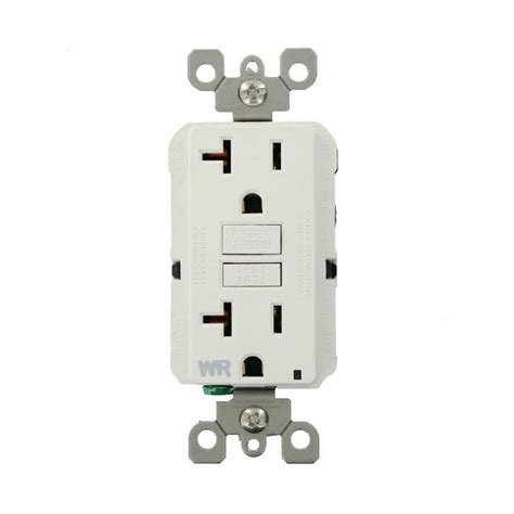 backyard outlet ge 20 amp backyard outlet with gfi receptacle u010010grp