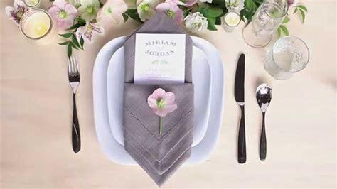 7 basic table napkin folding table setting tips menu napkin folds pouch fold