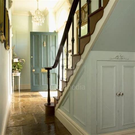 georgian hallway and flagstone floors   House ideas