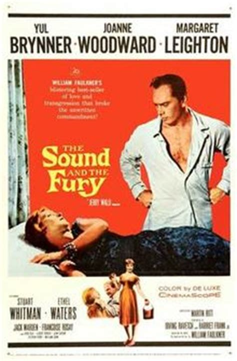William Faulkner Yhe Sound And The Fury the sound and the fury 1959