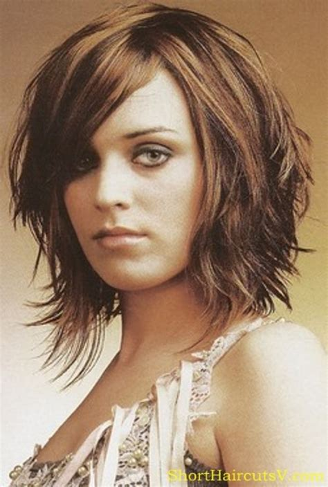 mid length hair cuts longer in front mid length hairstyles ideas for women s trendy haircuts