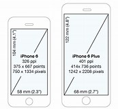 Image result for Dimensions Of iPhone 6s Plus