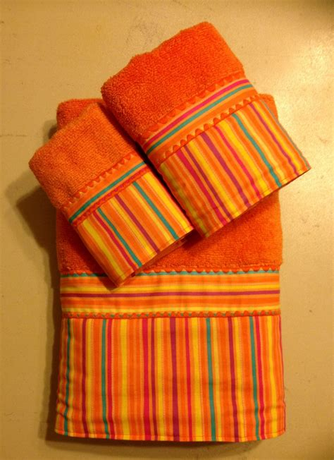 orange towels bathroom clearance sale orange and multi colored striped bath towel